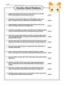 fractions word problems fraction word problems fractions math worksheets and cool math