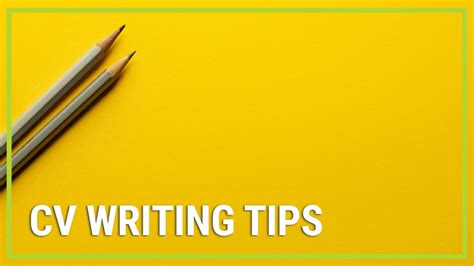 Cv Writing Tips by Cv Writing Tips