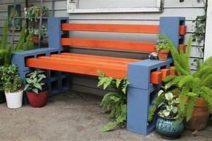 Fabriquer Un Banc De Jardin Original : fabriquer un salon de jardin 24 id es de bricolage pour l 39 t ~ Melissatoandfro.com Idées de Décoration
