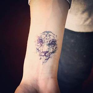 Loup Tatouage Signification : watercolor tiger tattoos tatouage tatouage tigre et tatouage pissenlit ~ Dallasstarsshop.com Idées de Décoration