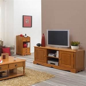 Mobilier En Anglais : meuble tv pin miel de style anglais maison et styles ~ Melissatoandfro.com Idées de Décoration