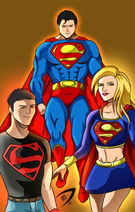 Family 01 Superman superman family by richrow on deviantart