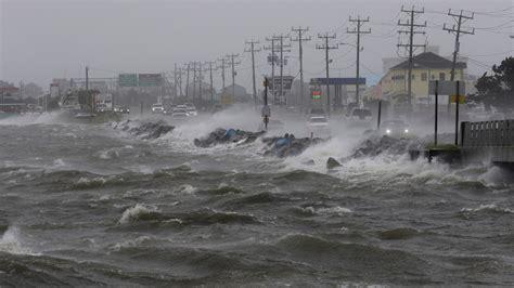 Sea level rise is worsening Hermine's coastal flooding