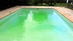 Eau De Piscine Trouble Apres Chlore Choc : piscine verte apr s des orages limpide en 2 minutes ~ Dailycaller-alerts.com Idées de Décoration
