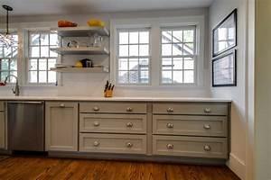 cuisine repeindre meuble de cuisine en bois avec gris With repeindre meuble cuisine bois