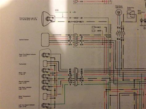 wiring diagrams klrklx  thumpertalk