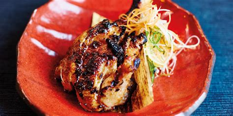 barbecued miso poussin recipe great british chefs