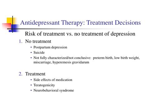 Ppt Antidepressant Classes Powerpoint Presentation Id