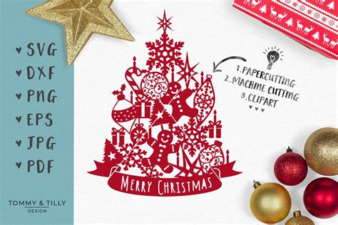 Rated 5.00 out of 5 based on 9 customer ratings. Assorted Christmas Tree - SVG EPS DXF PNG PDF JPG Cut File