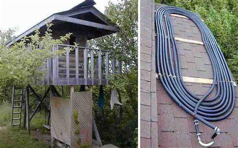 5 Diy Outdoor Solar Shower Ideas Off Grid World