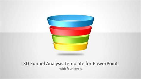 funnel analysis template  powerpoint slidemodel