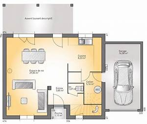 1000 images about maisons de ville on pinterest With plan de maison etage 0 maison de ville econome detail du plan de maison de