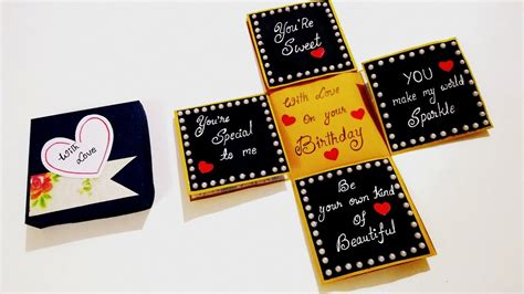 Beautiful Birthday card idea Handmade Birthday card