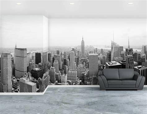 york city  adhesive wallpaper mural contemporary