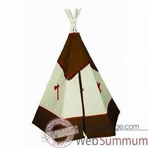 Tipi Indien Enfant : tipi d 39 indien bandicoot le tepee s11 dans tentes indiens sur jouets prestige ~ Melissatoandfro.com Idées de Décoration