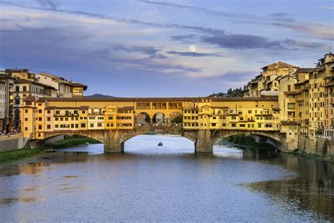 Visiting the Ponte Vecchio in Florence, Italy