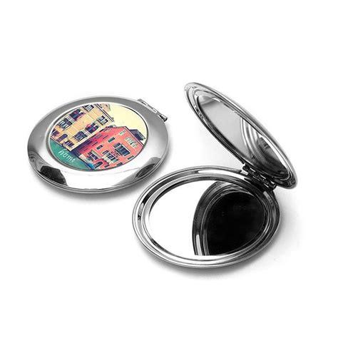 miroir de poche personnalise miroir de poche photo objets imprim 233 s id 233 e cadeau photo