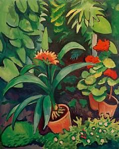 Blumen Im Garten : kunstdruck blumen im garten von macke august ~ Bigdaddyawards.com Haus und Dekorationen