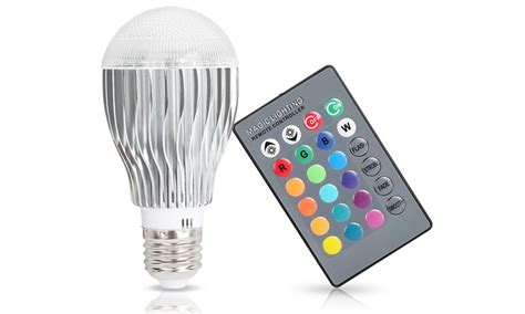 remote control color changing lights magic light with remote control groupon goods