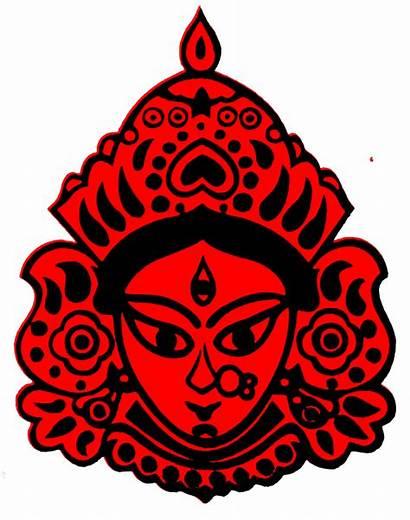Durga Goddess Clipart Kali Clip Godin Devi