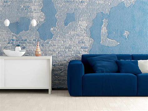 Wohnzimmer Orange Blau
