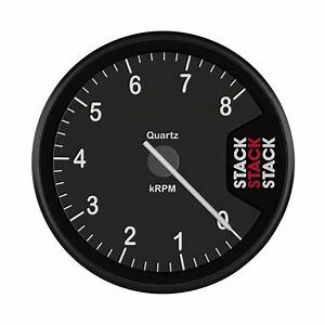 Stack St200 Clubman Tachometer 0