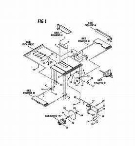 Ryobi Bts16 Parts List