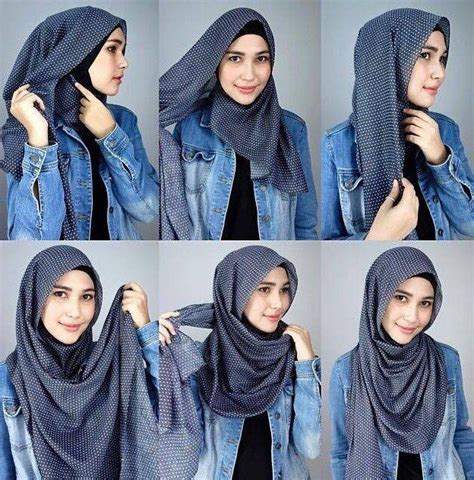 tutorial hijab pashmina simple anggun  formal