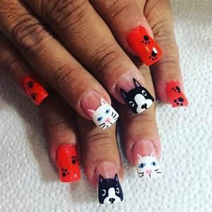 Cat nail art designs ideas design trends premium