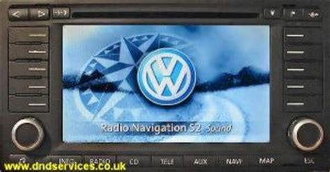 vw radio navigation  dnd services