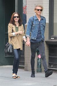Lily Collins, Jamie Campbell Bower Wear Matching Skinny ...