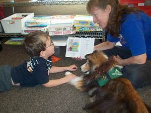 PAWSitive Reading Program Pairs Up Therapy Dogs ...