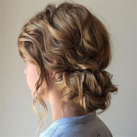 Medium Updos Hairstyles by 54 Easy Updo Hairstyles For Medium Length Hair In 2017