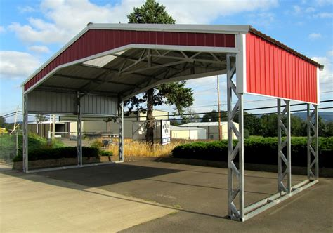 all steel carports all steel northwest metal garage buildings carports in