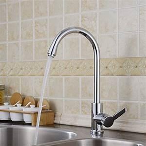 Levier De Cuisine : auralum moderne levier unique robinets de cuisine robinet ~ Preciouscoupons.com Idées de Décoration