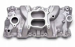 Edelbrock 2104  Intake Manifold For Use With Small Block