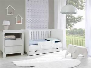 Chambre Bebe Evolutive Complete : pinio moon 4 meubles lit 140x70 commode 2 tiroirs armoire 3 portes tag re murale baby ~ Teatrodelosmanantiales.com Idées de Décoration