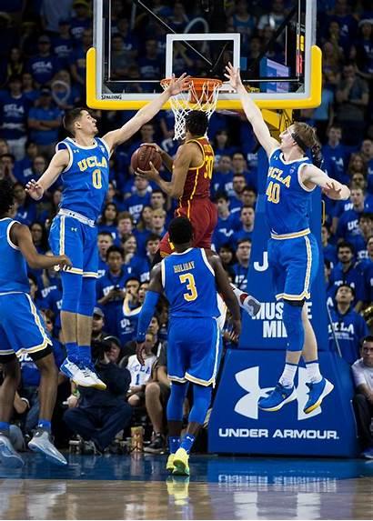 Ucla Usc Basketball Win Comeback Holds Mens