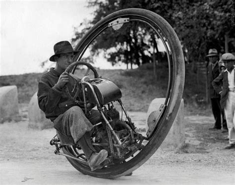 1932 One Wheel Motorcycle