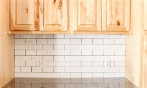 subway tile kitchen backsplash diy 9 diy kitchen backsplash ideas 8403