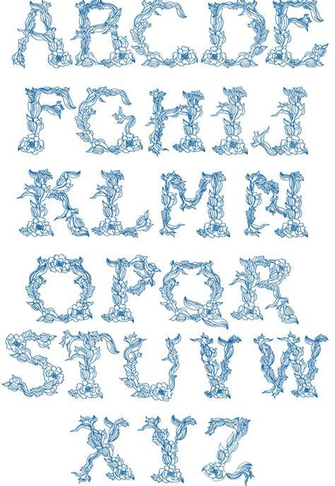 twine alphabet