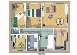 Bungalow Grundriss 4 Zimmer : bungalow sophia wilms haus ~ Pilothousefishingboats.com Haus und Dekorationen