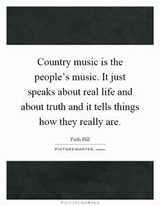 Country music i... Real Musicians Quotes