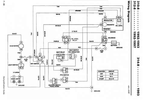Wheel Wiring Diagram by 312 8 Wiring Model 73362 Sn 5900429 Wheel