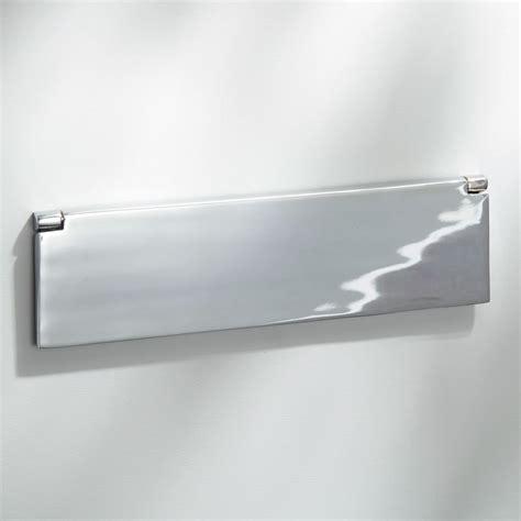 internal letter box flap polished chrome mm broughtons lighting ironmongery