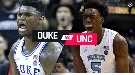unc  duke tipoff time tv channel  stream