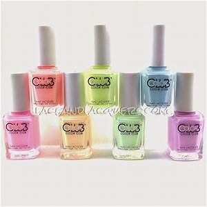 Lace and Lacquers COLOR CLUB Poptastic Pastel Neon