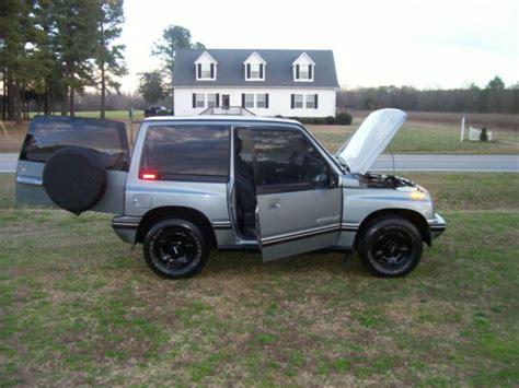 sidekick jeep 1994 geo tracker 4x4 automatic sidekick jeep 82k miles