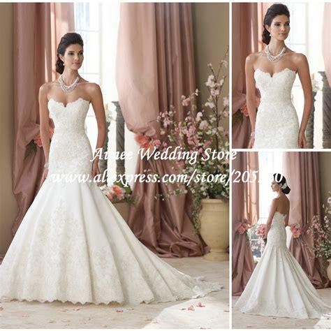 New Custom Made Gy013 Sweetheart Lace Mermaid Wedding