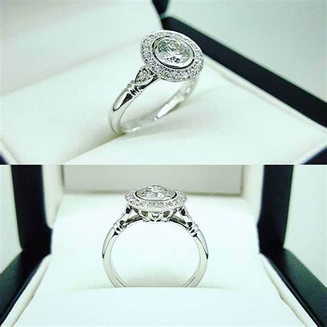 25 vintage style engagement ring designs trends models